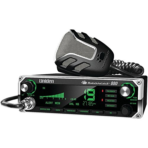 Uniden Bearcat CB Radio with 7-Color Display Backlighting