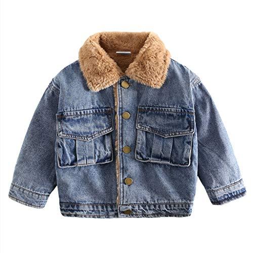 Małe dzieci chłopięce kurtki polarowe na jesień zima dzieci niebieskie dżinsy płaszcze z kieszenią