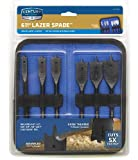 Century Drill & Tool 36406 Lazer Spade Bit Set, 6 Piece