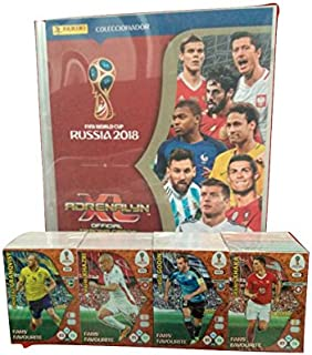 panini road to world cup 2018 cards