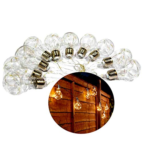 Cordão 10 Lâmpadas Incandescentes C/100 Leds Arame - Bivolt