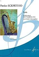 ショルティーノ : フリア (アルトサクソフォン二重奏) ビヨドー出版