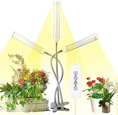 AQOTER Lámpara de Plantas 150W, 315 Leds Planta de luz para Plantas de Interior, Full Spectrum LED Lámpara de Crecimiento de Planta, Grow Light Grow Lamp Lámpara de Cultivo, 3 Modos de Iluminación