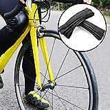ENticerowts H486 700 x 23 C/25 C 120 TPI Pneu de vélo de route pour vélo de vélo de vélo anti-crevaison 23 C, 25 C.