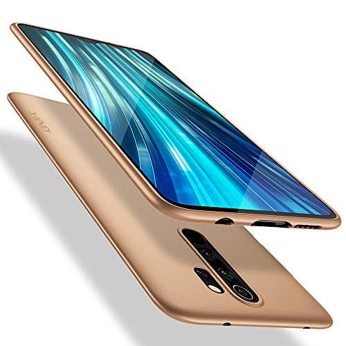 X-level Xiaomi Redmi Note 8 Pro Hülle, [Guardian Serie] Soft Flex Silikon Premium TPU Echtes Handygefühl Handyhülle Schutzhülle Hülle Cover für Xiaomi Redmi Note 8 Pro - Gold