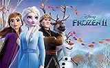 Frozen II, Eiskönigin Tortenaufleger, Rechteckig...