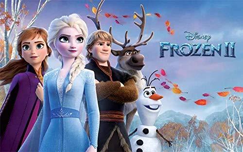 Frozen II, Eiskönigin Tortenaufleger, Rechteckig