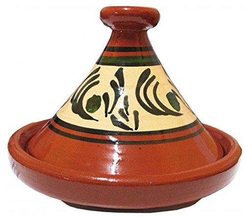 Marokkanische Tajine Tanger glasiert 1-2 Personen Ø 22 cm