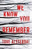 Image of We Know You Remember: A Novel (The High Coast Series, 1)