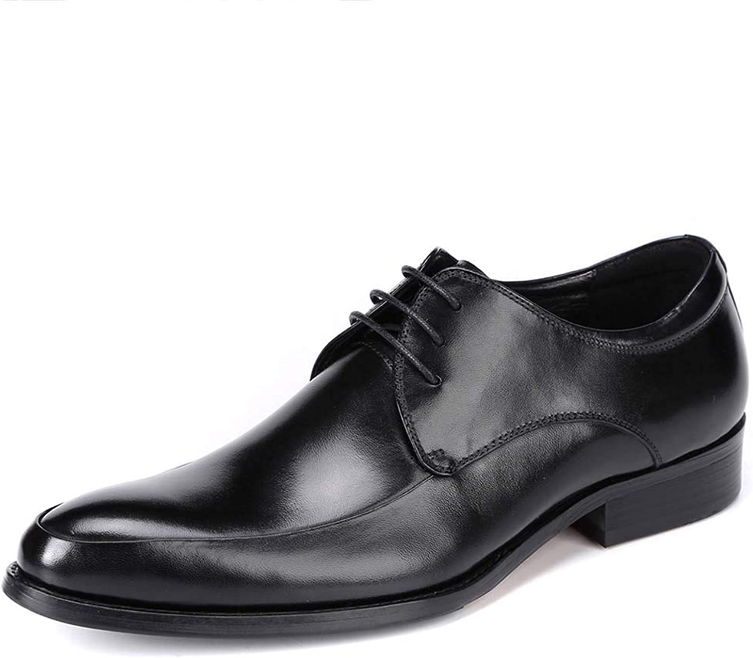 Men's Business shoes with Low-Cut Pointed Wedding shoes Dress shoes