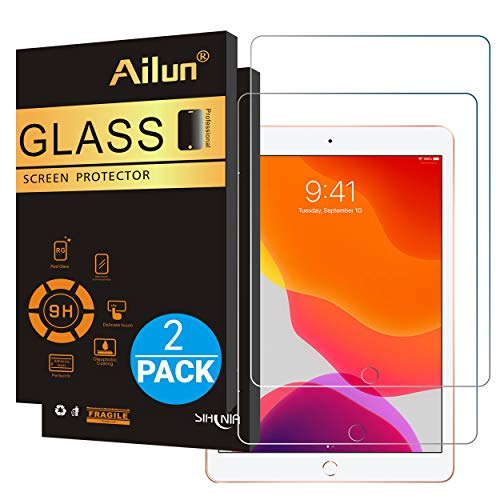 Buy Bargain Ailun Screen Protector for iPad 7 (10.2-Inch, 2019 Model, 7th Generation) [2Pack] 2.5D T...