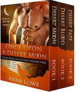 Once Upon a Desert Moon: Three Book Collection - Volume 1 (The Wolves of Twin Moon Ranch) by [Anna Lowe]