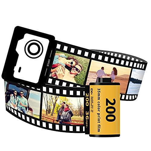 FGMEI Custom Unique Romantic Camera Film Present Cute Things Personalized Gift for Birthday Anniversary Lover Dad Mom Kids Bestfriend Boyfriend Auntie Women Valentine's Day