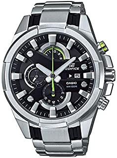 Casio Edifice Chronograph for Men - Analog Stainless Steel Band Watch - EFR-540D-1AVUDF