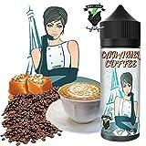 E-Liquid CARAMEL COFFEE   120ML TPD   ElecVap   Sin Nicotina: 0MG   E-Liquido para Cigarrillos Electronicos - E Liquidos para Vaper 70/30