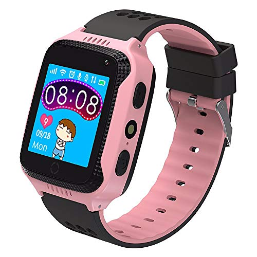 ZAKRLYB Anti verloren Kinder Smart Uhr Kinder GPS Tracker SOS Smart Monitoring Positionieren Telefon Kinder GPS Baby Smart Uhren Frauen Männer IOS Android Uhr Für Kinder 3-12 Weihnachten Geburtstagsge