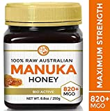 Raw Manuka Honey Certified MGO 820+ (NPA 20+) Highest Grade Medicinal...