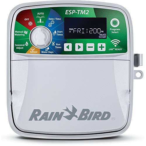 ESP-TM2 Rain Bird - Aparato de Control (230 V, 12 Estaciones para Interior y Exterior)