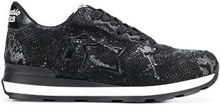 [アトランティックスターズ] レディース VEGANZB10N ブラック 革 運動靴