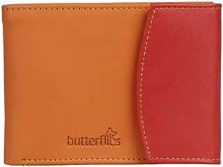 Butterflies Women's Wallet (Orange/Red) (BNS 2045)