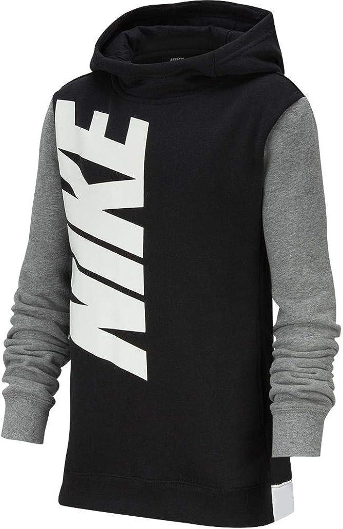 Nike Boy's Core Financial sales sale Amplify Hoodie White High quality Grey Black