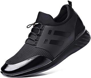 Scucs Mens Ava scarpe da ginnastica aumento interno scarpe da passeggio antiscivolo scarpe da corsa leggero traspirante sc...