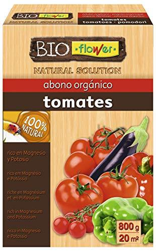 Flower 70558 70558-Abono orgánico Tomates, 800 g, No Aplica, 16x5.5x23.5 cm