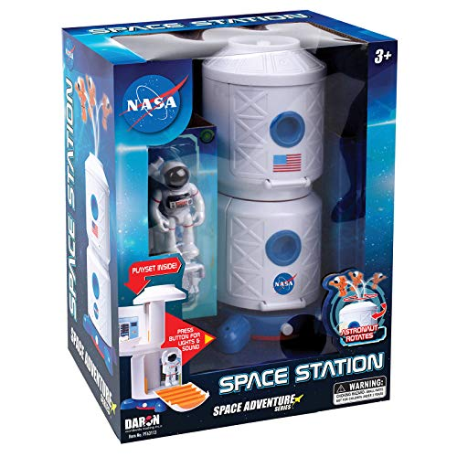 Daron NASA Space Adventure Series: Space Station with Lights, Sounds & Figurine (B07R4XX8S8)