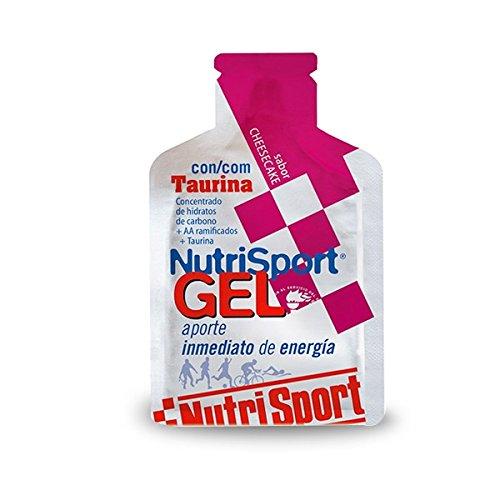 Nutrisport Gel Taurina Cycling 12 x 40ml Cheesecake