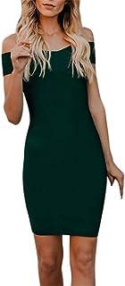 三番目の店 2018 人気 女性 ファッション レディース ショルダー 半袖 ボディコン イブニング パーティー ドレス オフ