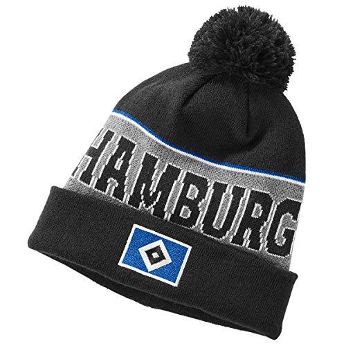 Hamburger SV HSV Mütze, Bommelmütze, Wintermütze Dirk, 30156