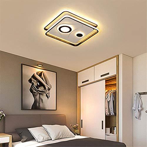 Moderne led-plafondlamp, oogbescherming, vierkant, 3000 – 6000 K, licht voor keuken, woonkamer, [energieklasse A]