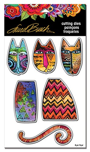 Stampendous LBDCS06 Laurel Burch Tribal Cats Die Cut Set