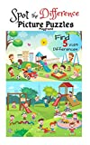 Spot the Difference Picture Puzzles 'Playground' Find 5 Differences vol.19: Children Activities Book for Kids Age 3-8, Boys and Girls Activity Learning (English Edition)