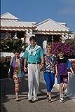 783018 Family Walking Playa Blanca Lanzarote Spain A4 Photo