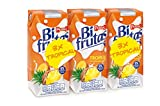 Bifrutas - Tropical - Bebida refrescante con leche y zumo de frutas - 3 x 330 ml - [pack de 3]