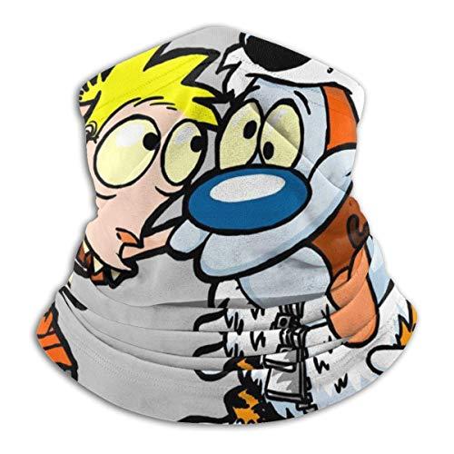 Halswärmer Ren Und Stimpy Calvin Und Hobbes Kostüme Frauen Atmungsaktiv Bedruckte Halsmanschette Wärmer...
