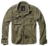 Brandit Vintage Shirt Longsleeve Oliv XXL