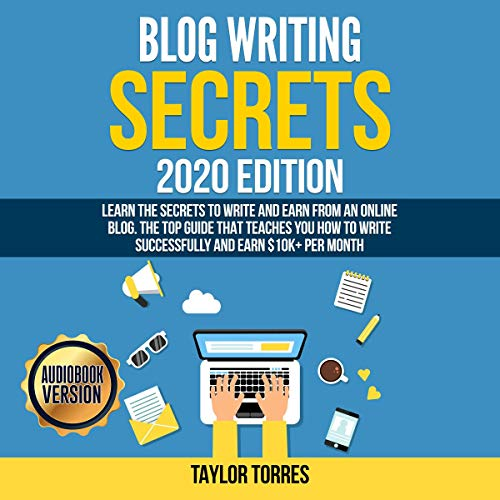 Blog Writing Secrets 2020 Edition cover art