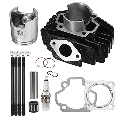 GOZAR Big Bore Top End Set 60cc Zuiger Cilinder Ring Kit Voor Yamaha PW50 1981-2009