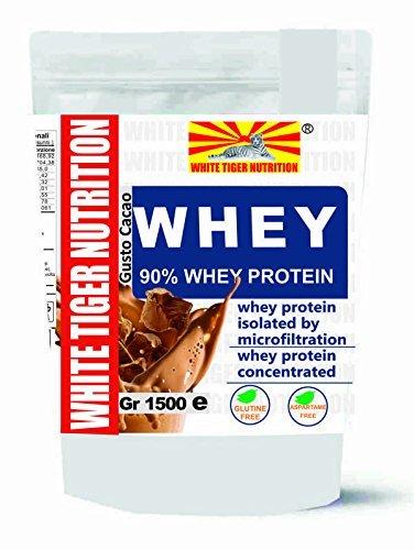 whey | proteína de suero 90 |5000 gr Sabor Cocoa | rica en aminoácidos de cadena ramificada|sin aspartamo | | aumentar la masa muscular | Quick Release | aumento de la masa magra Ideal | Bodybuilding