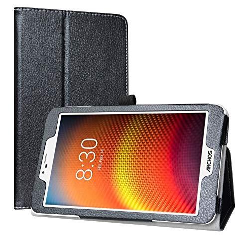 Labanema Kompatibel mit Archos Core 80 Wi-Fi Tablet Hülle, Slim Fit Folio PU Leder dünne Kunstleder Schutzhülle Cover Schale Etui Tasche für 8.0