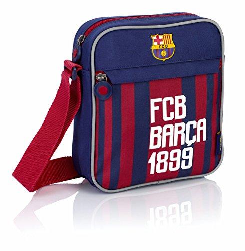 FC Barcelona Umhängetasche FC-175FC Barca Fan 6 Bolso Bandolera, 21 cm, Multicolor