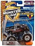 2018 Hot Wheels Monster Jam Tour Favorites 16/19 - Metal Mulisha includes Re-Crushable Car!