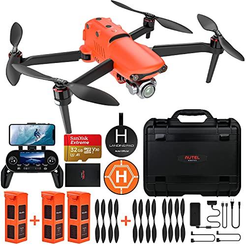 Autel Robotics EVO 2 Pro Drone con 6K HDR Video para Profesionales, Paquete Resistente con €429 Kit de Accesorios de Valor (Manual de Usuario Solo en Inglés)