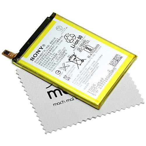Akku für Sony Original LIS1632ERPC 1305-6549 für Sony Xperia XZ, Xperia XZ Dual mit mungoo Bildschirmputztuch