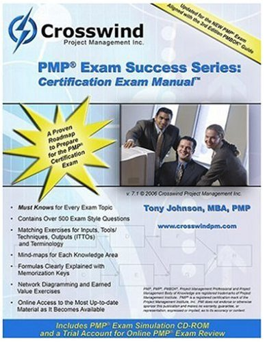 PMP Exam Success Series: Certification Exam Manual with CD-ROM