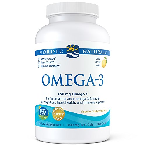 Nordic Naturals - Omega-3, Cognition, Heart Health, and Immune Support, 180 Soft Gels