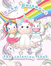 Baby Unicorns: the coloring book