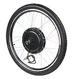 LXYFC Kit de Conversión de Bicicleta Eléctrica E-Bike Motor Kit 36V 500W 26in Motor De Rueda Kit De Conversión De La Rueda Impermeable Transporte Eléctrico Motor De Bicicleta Motor con Mete